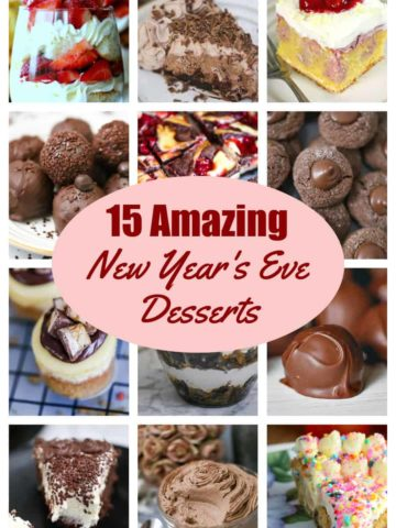 15 Impressive New Year's Eve Desserts