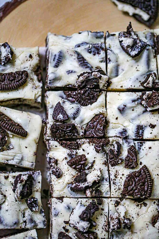 Easy Microwaveable Oreo Fudge
