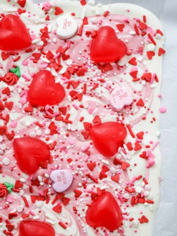 Easy Valentine Chocolate Bark