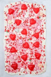 Easy Valentine Chocolate Bark