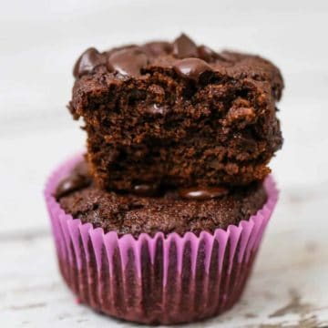 Low Carb Cocao Bliss Cake Muffins