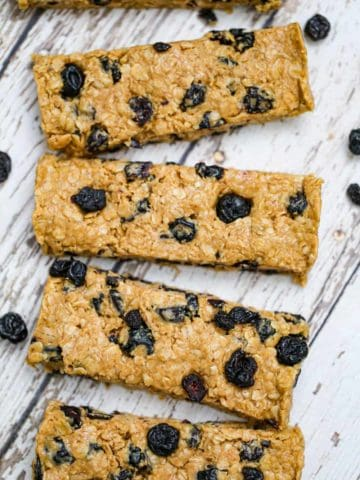 Easy Fruit Granola Bars