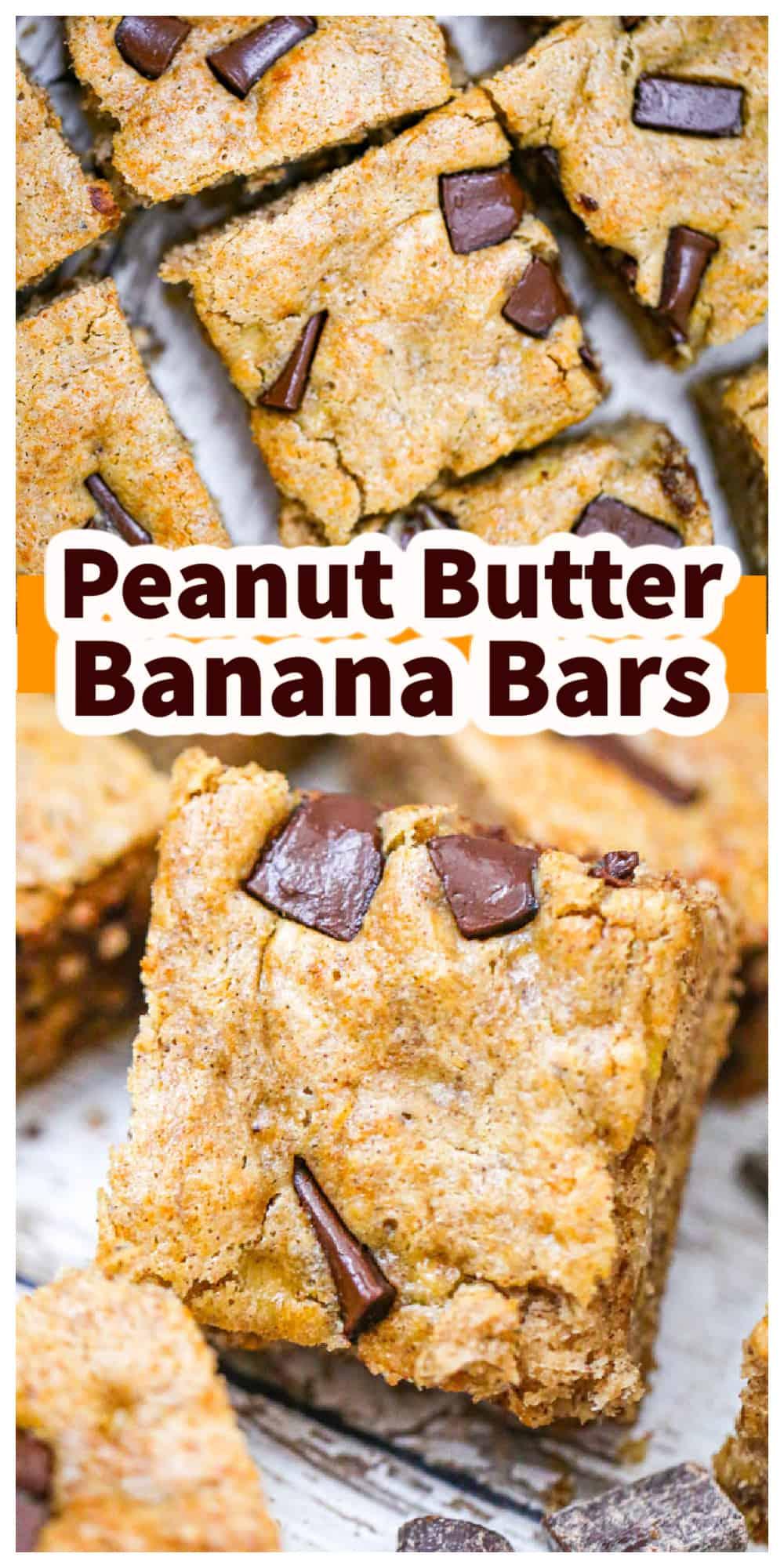 Peanut Butter Banana Bars