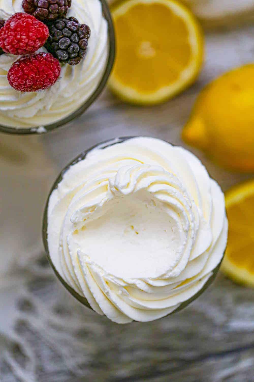 Keto Fluffy Lemon Burst Mousse