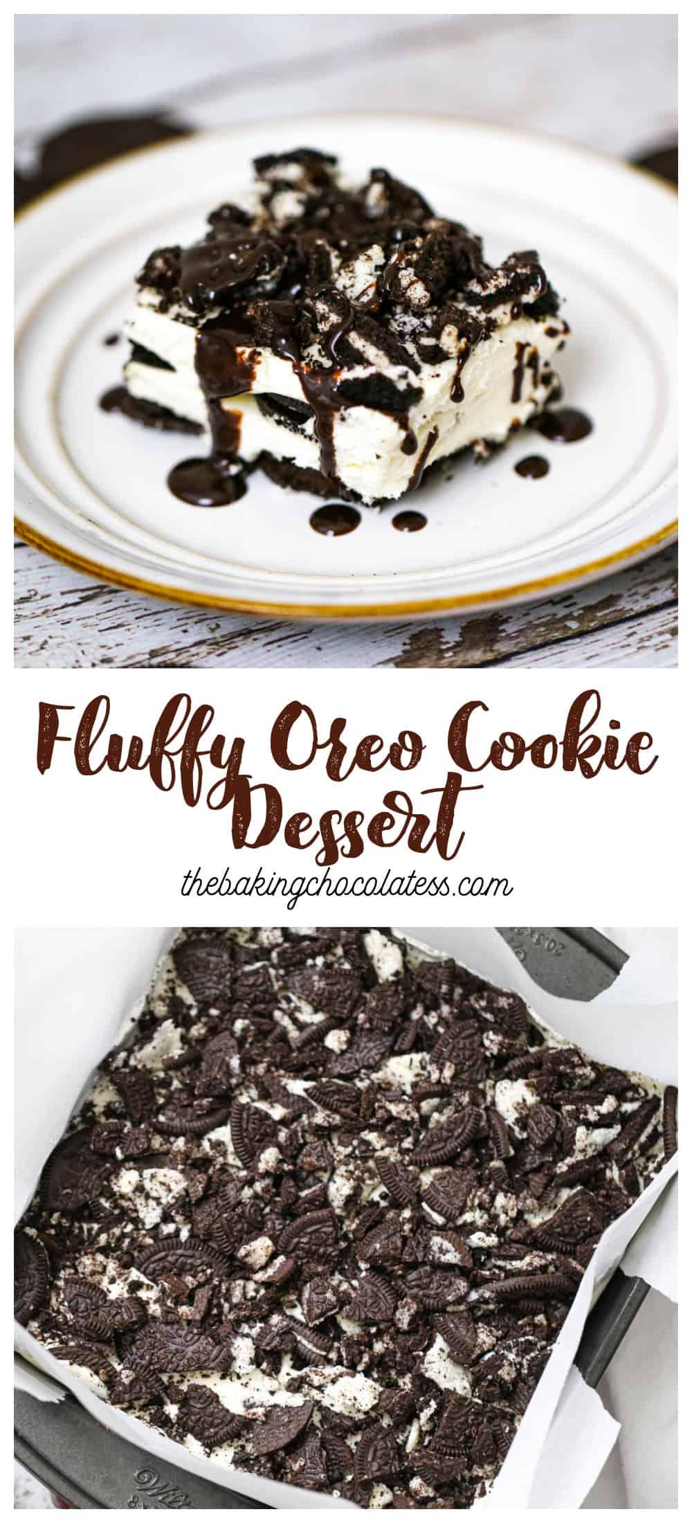 4 Ingredient Fluffy Oreo Dessert
