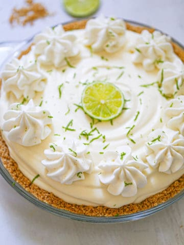 Easy Creamy Lime Cheesecake Pie