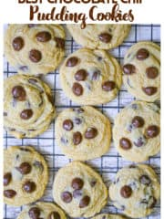 Home-made Chocolate Chip Pudding Cookies