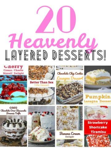 20 Heavenly Layered Desserts!