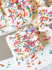 Super Easy Gluten Free Cookie Bars - Sugar Free too!