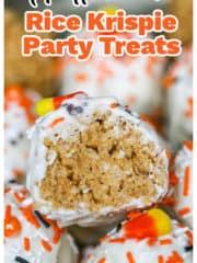 Halloween Rice Krispie Party Treats