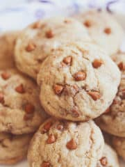 Snickerdoodle Cinnamon Chip Cookies