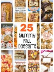 25 Yummy Fall Desserts